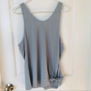 Athleta Max Out Side Tie tank